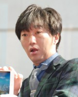 スマートフォンゲーム『SIMCITY BuildIt』バレンタインアップデート特別記念イベントに出席したスピードワゴン・小沢一敬 (C)ORICON NewS inc.