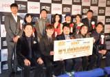 『FOXムービー プレミアム短編映画祭』授賞式の模様 (C)ORICON NewS inc.