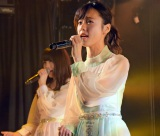 AKB48チームA7th『M.T.に捧ぐ』公演初日公開ゲネプロより島崎遥香(10日=AKB48劇場) (C)ORICON NewS inc.