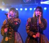 (左から)谷口めぐ、白間美瑠=AKB48チームA7th『M.T.に捧ぐ』公演(C)ORICON NewS inc.