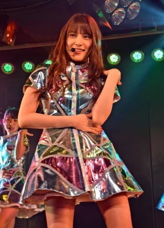 入山杏奈=AKB48チームA7th『M.T.に捧ぐ』公演初日より(C)ORICON NewS inc.