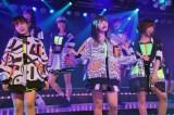 (前列左から)小笠原茉由、中西智代梨、大家志津香=AKB48チームA7th『M.T.に捧ぐ』公演初日より (C)ORICON NewS inc.