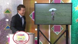 ローカル番組で股間を葉っぱで隠しただけの素っ裸になったことも…有吉弘行のドン底時代を象徴する写真を紹介するRCC中国放送の横山雄二アナウンサー(C)RCC