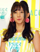 「NMB48が阪神タイガースを可愛く応援! TORACO応援隊長」就任発表記者会見 に出席した薮下柊 (C)ORICON NewS inc.