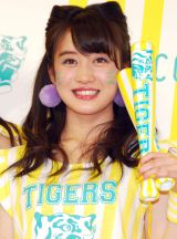 「NMB48が阪神タイガースを可愛く応援! TORACO応援隊長」就任発表記者会見 に出席した川上千尋 (C)ORICON NewS inc.