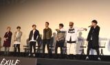 即興でボイパ&ダンスを披露=映画『Born in the EXILE〜三代目 J Soul Brothersの奇跡〜』初日舞台あいさつ (C)ORICON NewS inc.