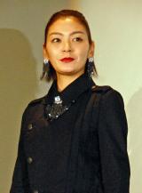 映画『鉄の子』初日舞台あいさつに出席した田畑智子 (C)ORICON NewS inc.