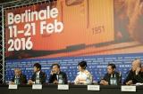 『第66回ベルリン国際映画祭』記者会見の様子(C)2016「クリーピー」製作委員会