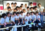 渋谷で国内初イベントを開催したジュノン・スーパーボーイ・アナザーズ