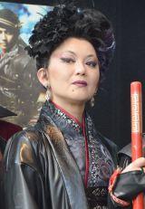 舞台『GOKU』公開リハーサルに参加した大沢逸美 (C)ORICON NewS inc.