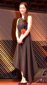 『第70回毎日映画コンクール』表彰式に出席した綾瀬はるか (C)ORICON NewS inc.