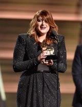グラミー賞「最優秀新人賞」を受賞したメーガン・トレイナー(写真:Getty Images)
