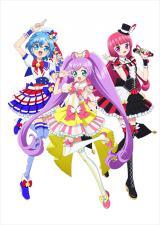アニメ『プリパラ』の登場キャラクター(左から)ドロシー、らぁら、そふぃ (C)T-ARTS / syn Sophia / 映画プリパラ製作委員会