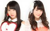 映画『しまじろうと えほんのくに』にゲスト声優として参加するAKB48の木崎ゆりあ(左)とSKE48の木本花音(C)AKS