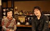 3月3日(木)に放送される『浦沢直樹の漫勉』に登場する萩尾望都氏(左) (C)NHK