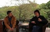 3月17日(木)放送の 『浦沢直樹の漫勉』に登場する五十嵐大介氏(左) (C)NHK