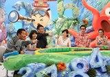 (左から)藤本敏史(FUJIWARA)、田中美佐子、生瀬勝久、高島彩、ビビる大木 中村アン(C)関西テレビ