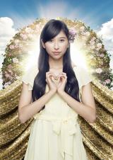 ももいろクローバーZの玉井詩織(4thアルバム『白金の夜明け』ビジュアル)