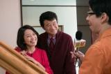 芸能界でも有名な「おしどり夫婦」を演じる船越英一郎、羽田美智子(C)日本テレビ