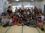 歌手・クミコとの出会いがきっかけで石巻の子どもたちで結成された「つながり隊」」