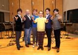 『たいせつなあなたへ』公開レコーディングに指揮者として参加した新垣隆氏(中央)、オペラユニット・レジェンド
