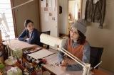 漫画家とアシスタントの関係を演じる宮沢りえと前田敦子(C)WOWOW