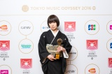 部門賞「BEST FEMALE ARTIST」を受賞した椎名林檎