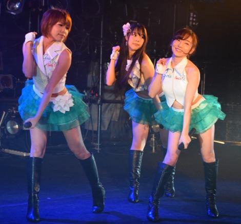 『アイドルよ覚醒せよ vol.2 Supported by クラブクアトロ〜』に出演したGirls Beat!! (C)ORICON NewS inc.