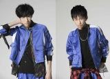 SUPER★DRAGONの古川毅(左)と池田彪馬が小説内ユニット「アルキとメデス」名義で新曲発表