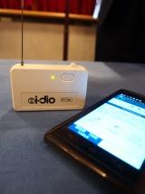 放送波をWi-Fiに変換する「i-dioチューナー」 (C)ORICON NewS inc.