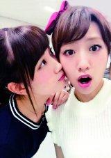 キス写真も公開(『たかみな撮!AKB48卒業フォト日記「写りな、写りな」』より)