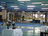 3月3日、TBS系『NEWS23』でGReeeeN・HIDEのインタビューを放送。写真は犠牲者の身元確認の検死が行なわれた、福島県相馬市の遺体安置所。HIDEもここで検死に加わった(C)TBS