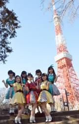 東京タワーでイベントを行ったカントリー・ガールズ (C)ORICON NewS inc.