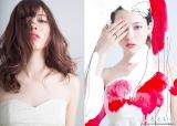 アート企画『しろといろ』で白色に染まる八木アリサ