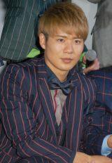 BOYS AND MENの辻本達規=『復讐したい』初日舞台あいさつ (C)ORICON NewS inc.