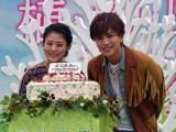 3月6日はEXILE/三代目J Soul brothers from EXILE TRIBEのメンバー・岩田剛典の誕生日。女優の高畑充希とファン1000人が祝福 (C)ORICON NewS inc.