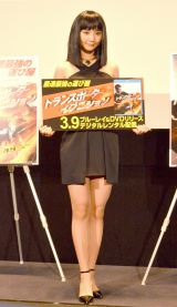 ブルーレイ&DVD『トランスポーター イグニッション』リリース記念特別イベントに登場したおのののか(C)ORICON NewS inc.