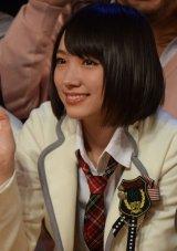 BSスカパー!の特番『NMB48のナイショで限界突破!〜謎のうたワクワク発表会〜』収録に参加した太田夢莉 (C)ORICON NewS inc.