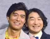 共演者(左から)高嶋政宏、池田鉄洋 (C)ORICON NewS inc.