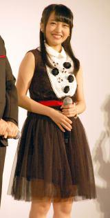 映画『アンフェア the end』ジャパンプレミアに登場したAKB48・向井地美音 (C)ORICON NewS inc.
