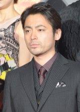 映画『テラフォーマーズ』完成披露舞台あいさつに出席した山田孝之 (C)ORICON NewS inc.