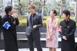 (左から)ナインティナインの矢部浩之、GACKT、清水富美加、岡村隆史 (C)日本テレビ