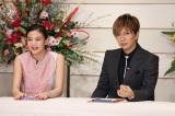 (左から)清水富美加、GACKT (C)日本テレビ