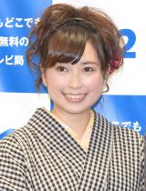 『BS12 2016年4月改編説明会』にゲストとして登場した美甘子 (C)ORICON NewS inc.
