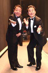 """結成25周年公演を開催したノブ&フッキー(左から)""""ノブ""""こと小沢信弘、""""フッキー""""こと葺本光秀 (C)ORICON NewS inc."""