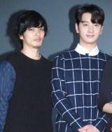 (左から)久保田悠来、2PM・チャンソン (C)ORICON NewS inc.