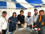 福島の食材を使った「大鍋」