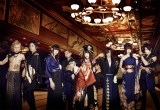 日本古来の伝統楽器(箏、尺八、津軽三味線、和太鼓)とギター、ベース、ドラムを掛け合わせ、ボーカルは詩吟の師範という異色編成の男女8人組。「ニコニコ動画」投稿を機に、国内外で注目を集めている