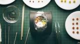 4名の職人の技を結集して完成した腕時計型お弁当『BENTO WATCH』