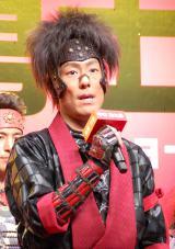 映画『真田十勇士』のクランクアップ報告会見に出席した中村勘九郎 (C)ORICON NewS inc.